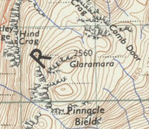 Glaramara map