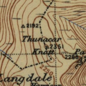Thunacar Knott map